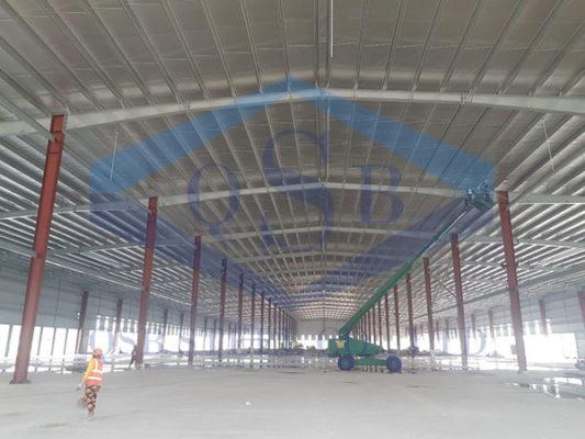 Thiết kế, thi công và xây dựng nhà máy thép tiền chế