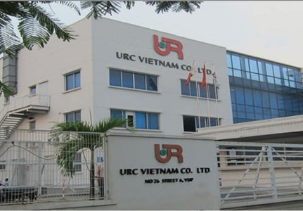 Nhà Xưởng URC - Bình Dương