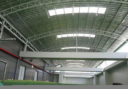dự án nhà thép tiền chế sân golf và mái pvgas tower nhà bè