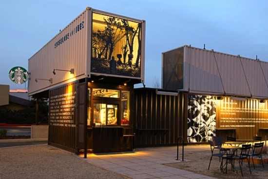 Mô hình café container