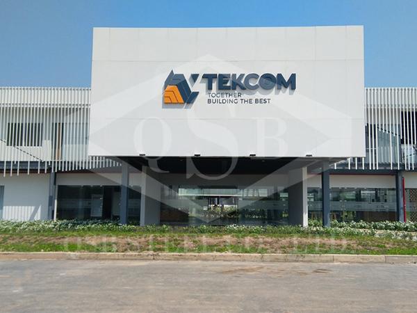 Nhà máy thép tiền chế Tekcom