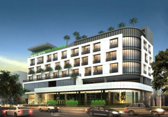 Nhà tiền chế trung tâm thương mai và khách sạn côn đảo
