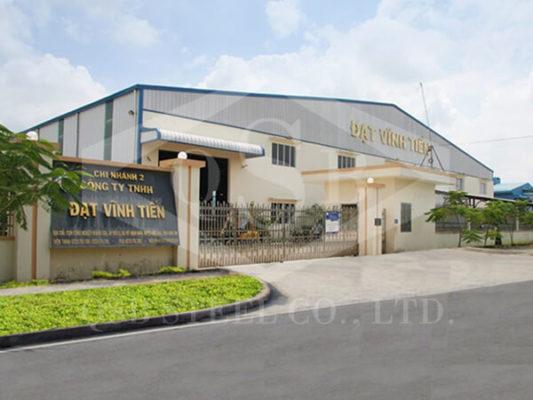 Nhà xưởng thép tiền chế Đạt Vĩnh Tiến