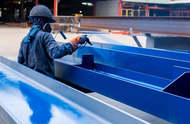 Quy trình sơn kết cấu thép cơ bản nhất