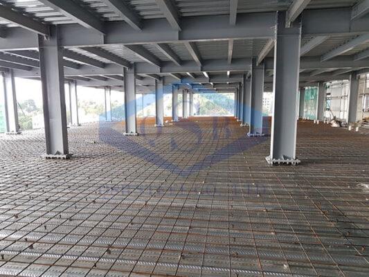 Các loại sàn nhà thép tiền chế