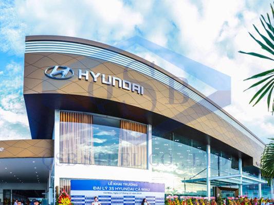 Showroom Hyundai 3S Cà Mau