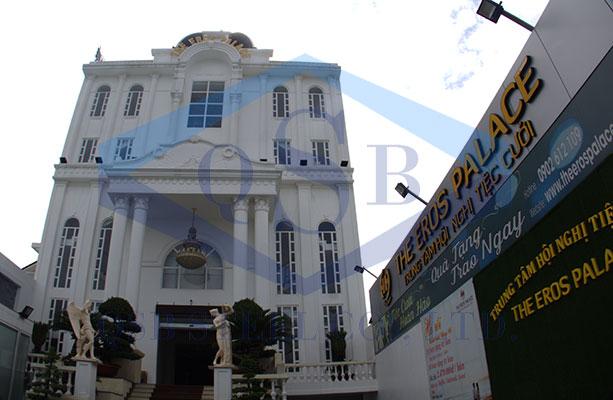 Trung tâm hội nghị tiệc cưới The Eros Palace - Quận 12, Hồ Chí Minh
