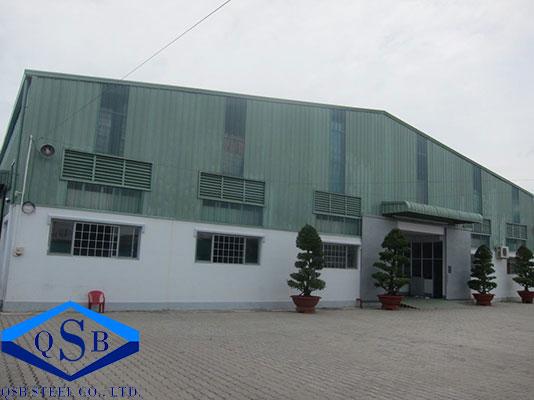 Xây Dựng Nhà Xưởng Nhựa Duy Tân - TP. HCM